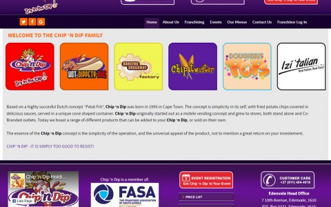Chip 'n Dip Home Page