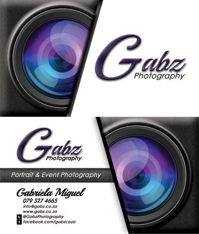 Gabz Professional Business Card Design