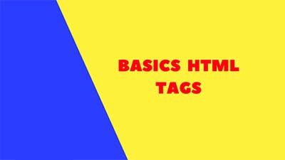 basics html tags in web designing