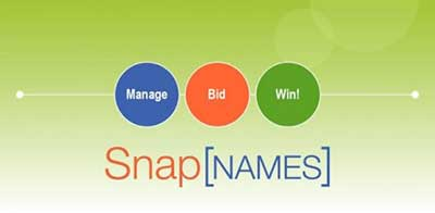 snapnames domain name auctions